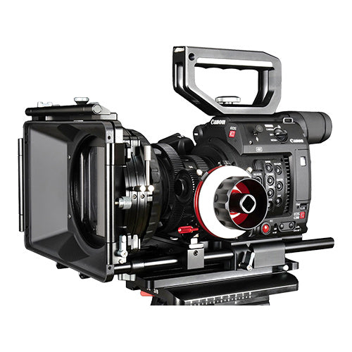 CAME-TV Canon EOS C200 Rig With Mattebox And Follow Focus BS03
