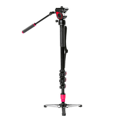 CAME-TV Carbon Fiber Monopod With Pivoting Foot Stand TP-MQB
