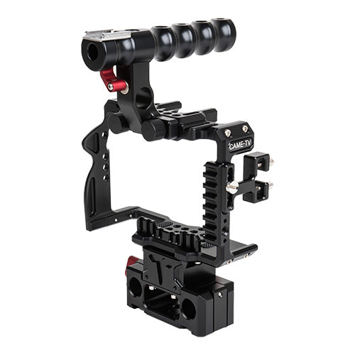CAME-TV Sony A7RIII / A7RIV Camera Rig 15mm Rod System