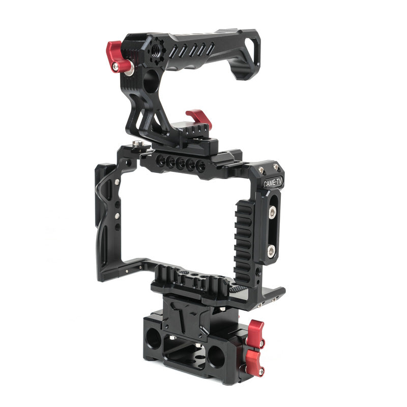CAME-TV Sony A7SIII Camera Rig 15mm Rod System