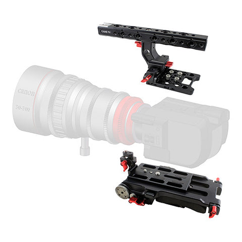 CAME-TV Sony FS5 Camera Rig Top Handle Base Plate