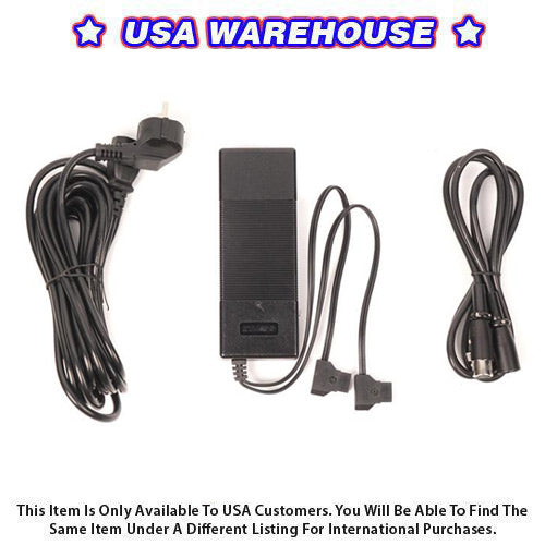 CTV-CD5 Battery Charger For DSLR Camera Video - USA Warehouse
