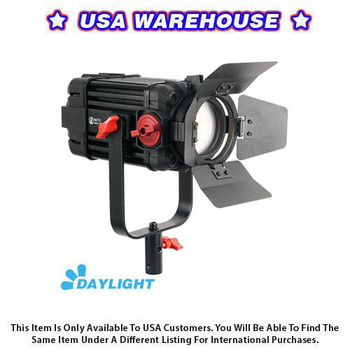 1 Pc CAME-TV Boltzen 100w Fresnel Focusable LED Daylight - USA Warehouse