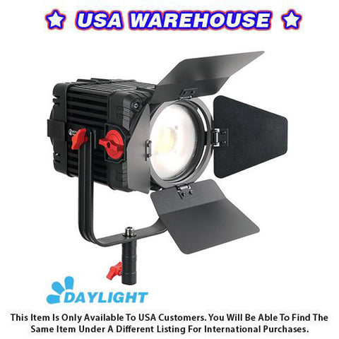 1 Pc CAME-TV Boltzen 150w Fresnel Focusable LED Daylight - USA Warehouse