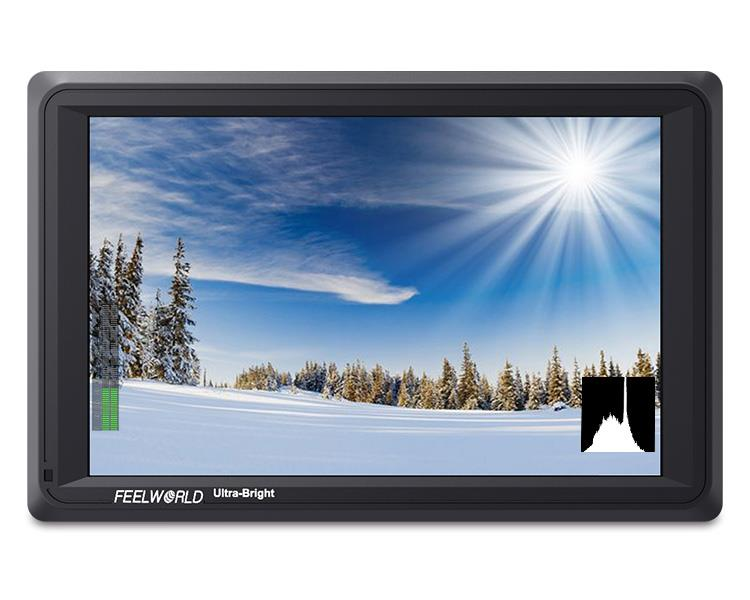 7 inch Ultra Brightness 2200nit HDMI SDI Field Monitor