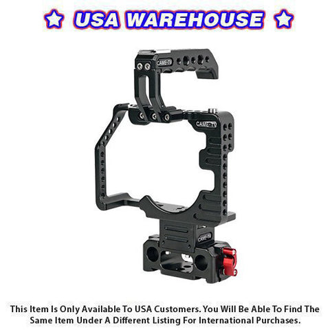 CAME-TV Protective Cage for GH5 Camera Rig - USA Warehouse