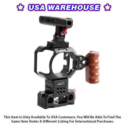 CAME-TV Cage for Blackmagic Micro Cinema Camera - USA Warehouse