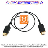 CAME-TV 2 Foot Ultra-Thin and Flexible HDMI Cable AA - USA Warehouse