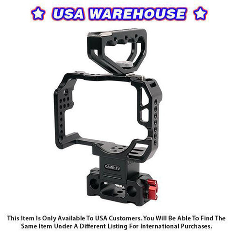 CAME-TV Protective Cage for GH4 Camera Rig with Handle HT-GH4 - USA Warehouse