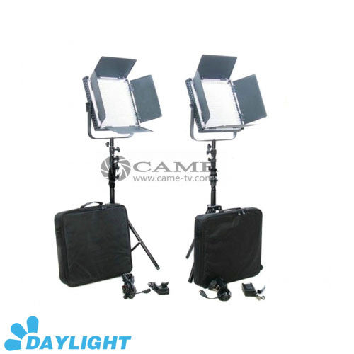 High CRI 2 X 900 LED Video Light 5600K Studio Broadcast Lighting