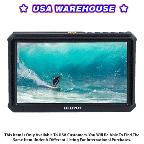 Lilliput A5 5 Inch FHD HDMI Light-Weight Monitor - USA Warehouse