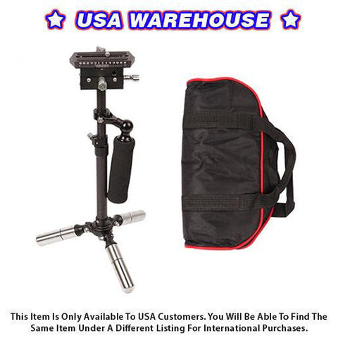 CAME-TV P06 Carbon Fiber Stabilizer Suitable For DSLR Cameras - USA Warehouse