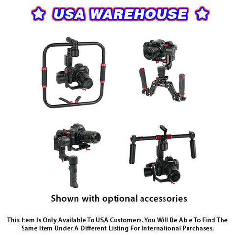 CAME-TV PROPHET 4 In 1 Gimbal Payload 6.6 Lbs With Detachable Head - USA Warehouse
