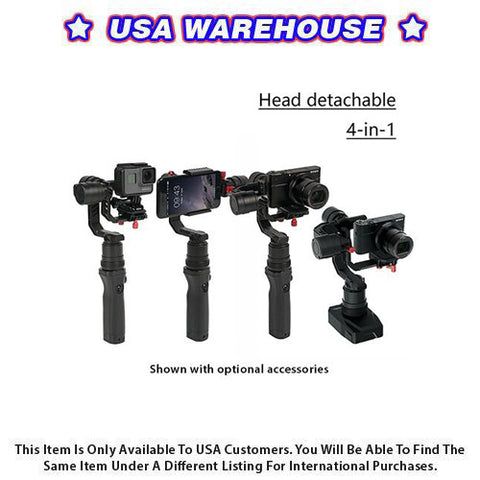 CAME-TV SPRY 4 In 1 Gimbal With Detachable Head - USA Warehouse