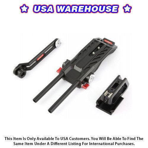CAME-TV Blackmagic URSA Mini Shoulder Rig - USA Warehouse