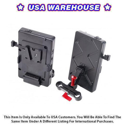 CAME-TV VM02 V-Mount Battery Plate Include Connection Cable - USA Warehouse