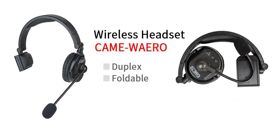 CAME-WAERO WIRELESS HEADSET