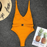 Maria Swimsuit Orange