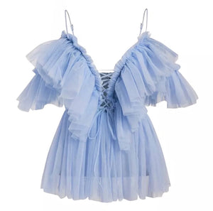 Pixie Top Sky Blue-