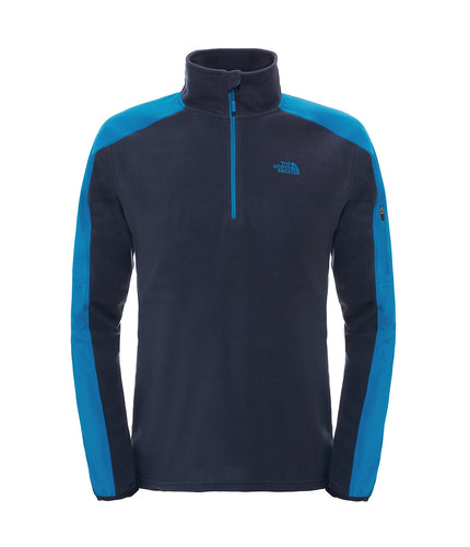 The North Face 100 Glacier 1/4 Zip Jacket Urban Navy