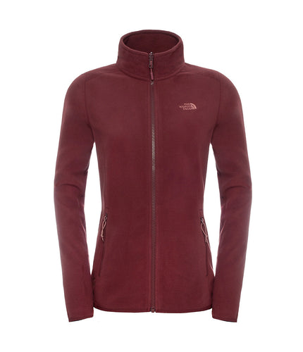 The North Face 100 Glacier 1/4 Zip Jacket Nostalgia Rose