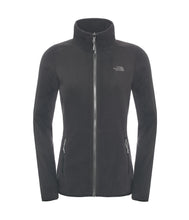 The North Face 100 Glacier 1/4 Zip Jacket Black