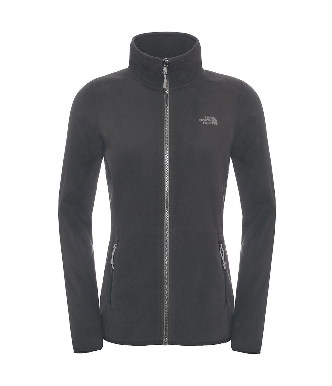 The North Face 100 Glacier 1/4 Zip Jacket Rabbit Grey