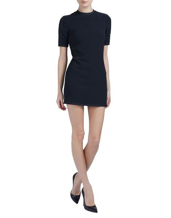 DSquared2 Military Gros Mini Dress Black