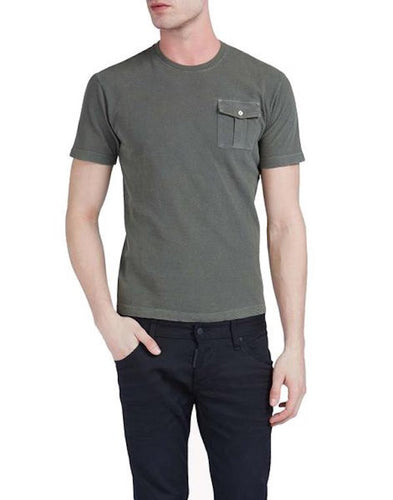 DSquared2 Tight Hetero Guy Fit T-shirt Military Green