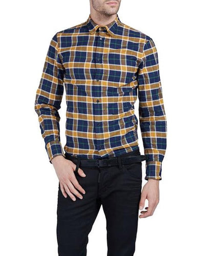 DSquared2 Metal Wired Shirt Dark Blue