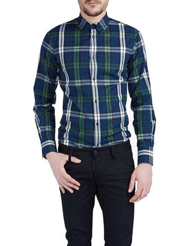 DSquared2 Button Down Shirt Green