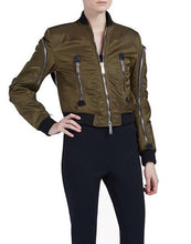 DSquared2 Zipped Bomber Military Green