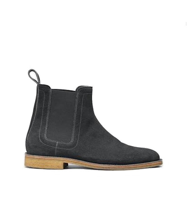 Bottega Veneta Desert Boot in Ardoise Suede