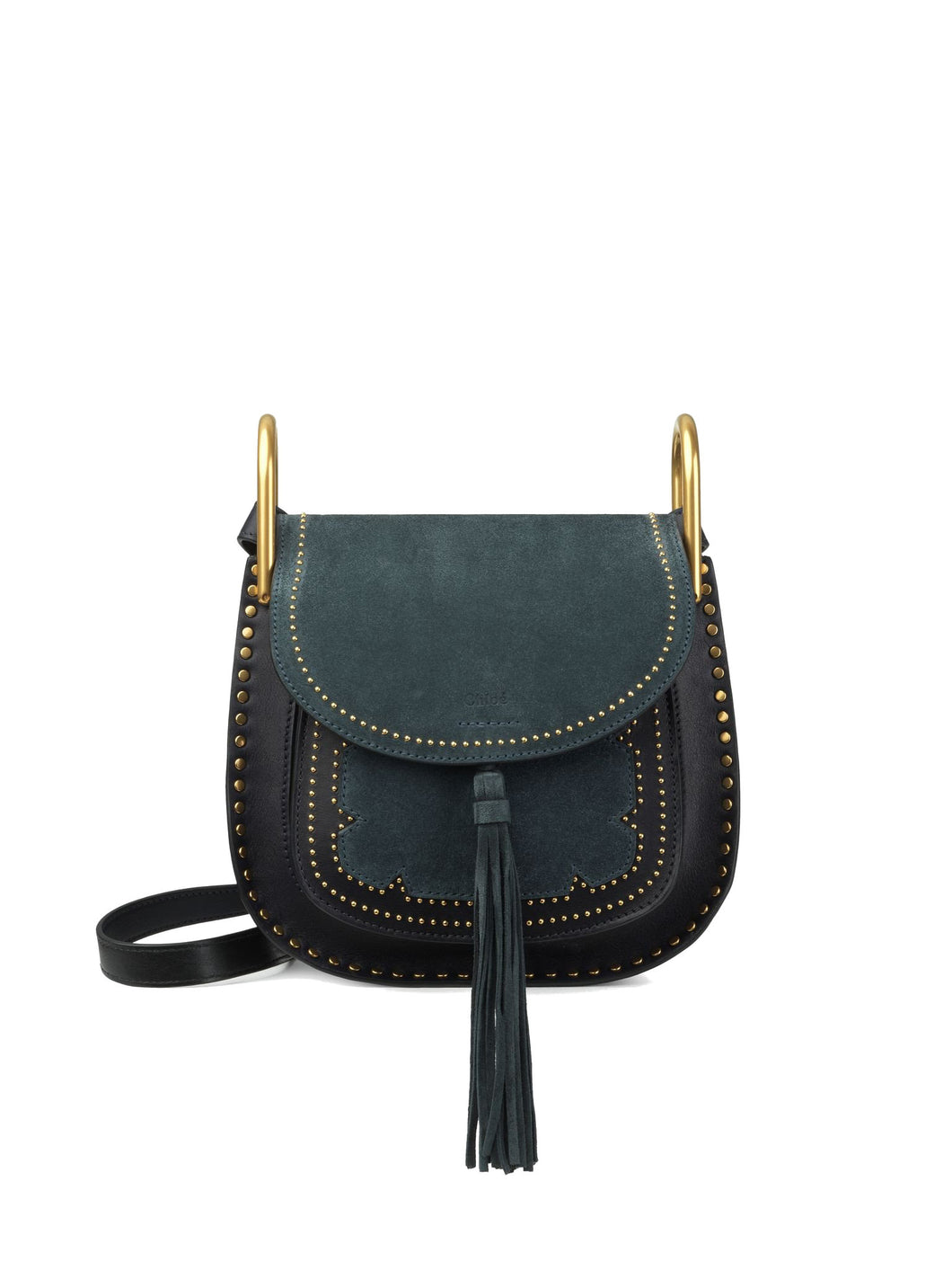 Chloé Small Hudson Bag Full Blue