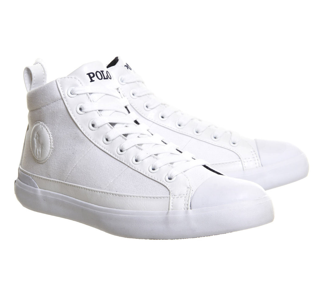Polo Ralph Lauren Clarke Sneakers Pure White
