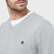 Timberland Williams River V-Neck Jumper Dark Sapphire