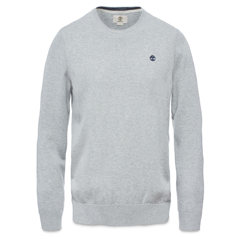 Timberland Williams River Crew Neck Jumper Medium Grey Heather