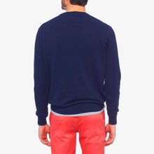 Timberland Williams River Crew Neck Jumper Blue Print