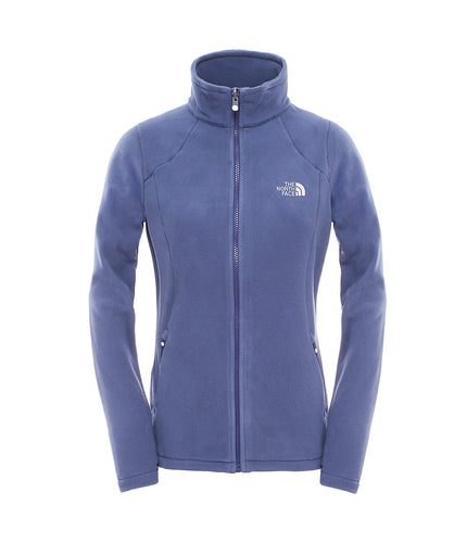 The North Face 100 Glacier Full Zip Jacket Campanula Blue