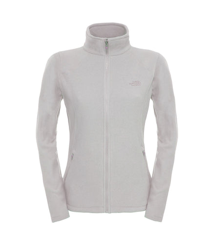 The North Face 100 Glacier Full Zip Jacket Rabbit Grey