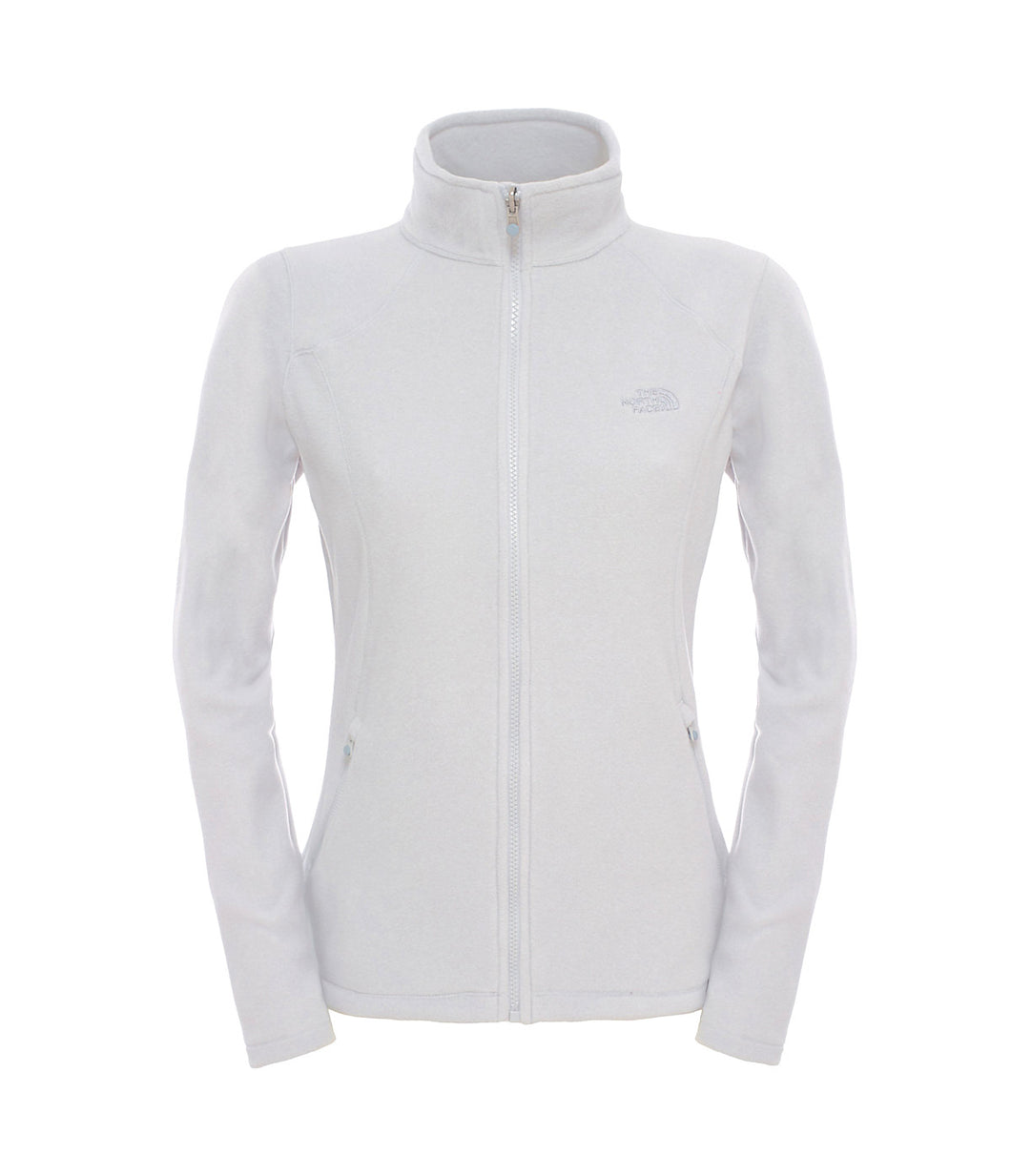 The North Face 100 Glacier Full Zip Jacket Vintage White