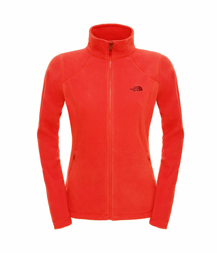 The North Face 100 Glacier Full Zip Jacket High Risk Red