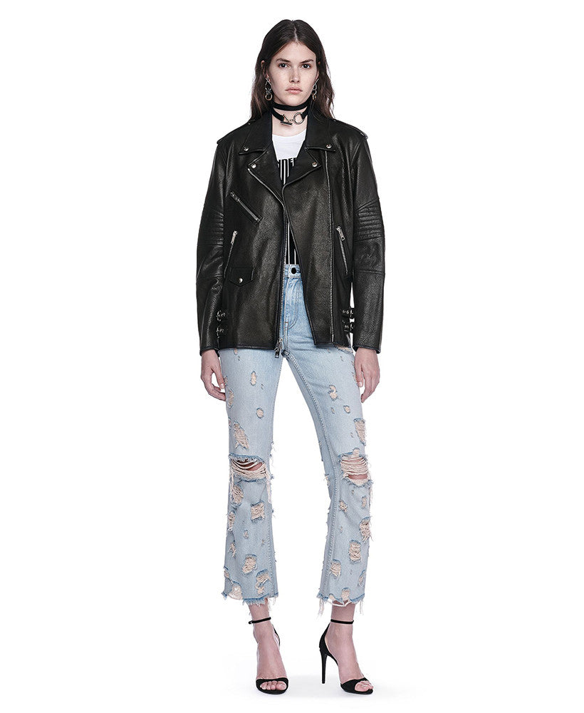 Alexander Wang Biker Jacket Black