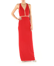 Alexander Wang Fishline Gown Red