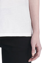 T by Alexander Wang V-Neck T-shirt White