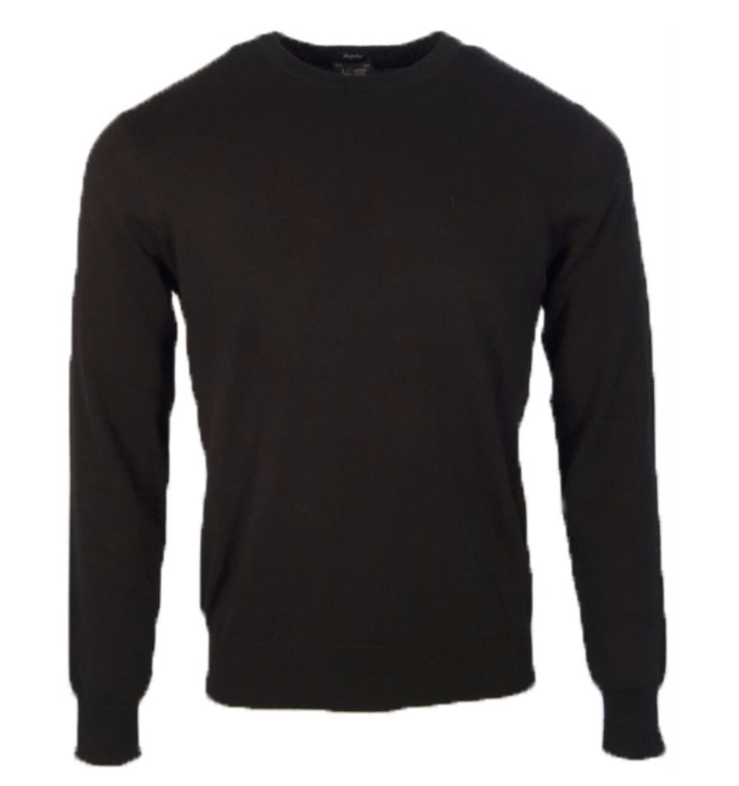 Armani Jeans Crew Neck Sweater Black