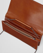 Bottega Veneta Leather Wallet Brown