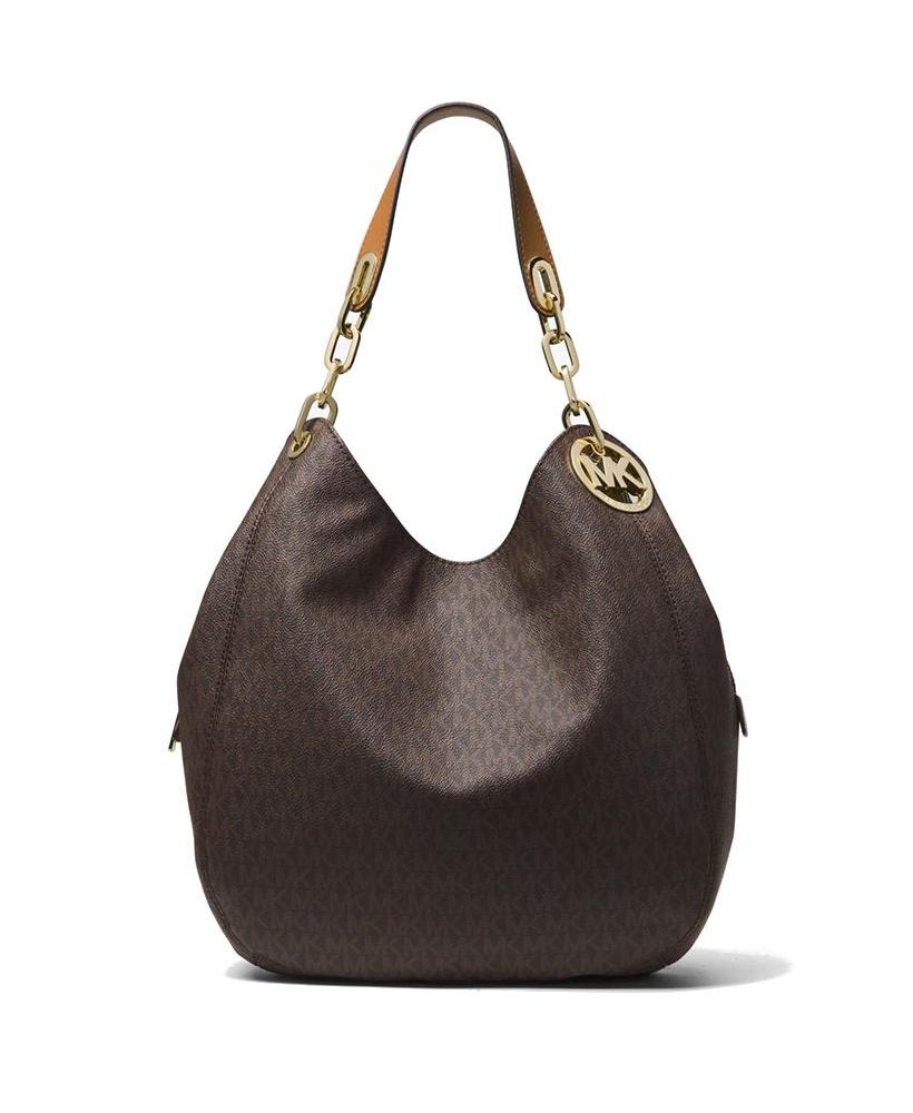 Michael Kors Fulton Shoulder Tote Bag Brown – Maison Lorenz Bach 540950d49