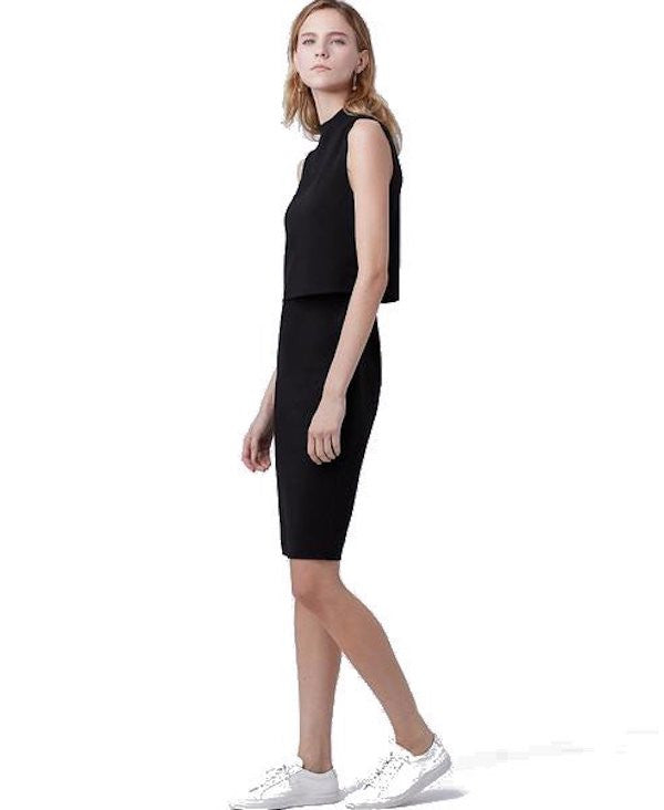 DVF Tali Dress Black