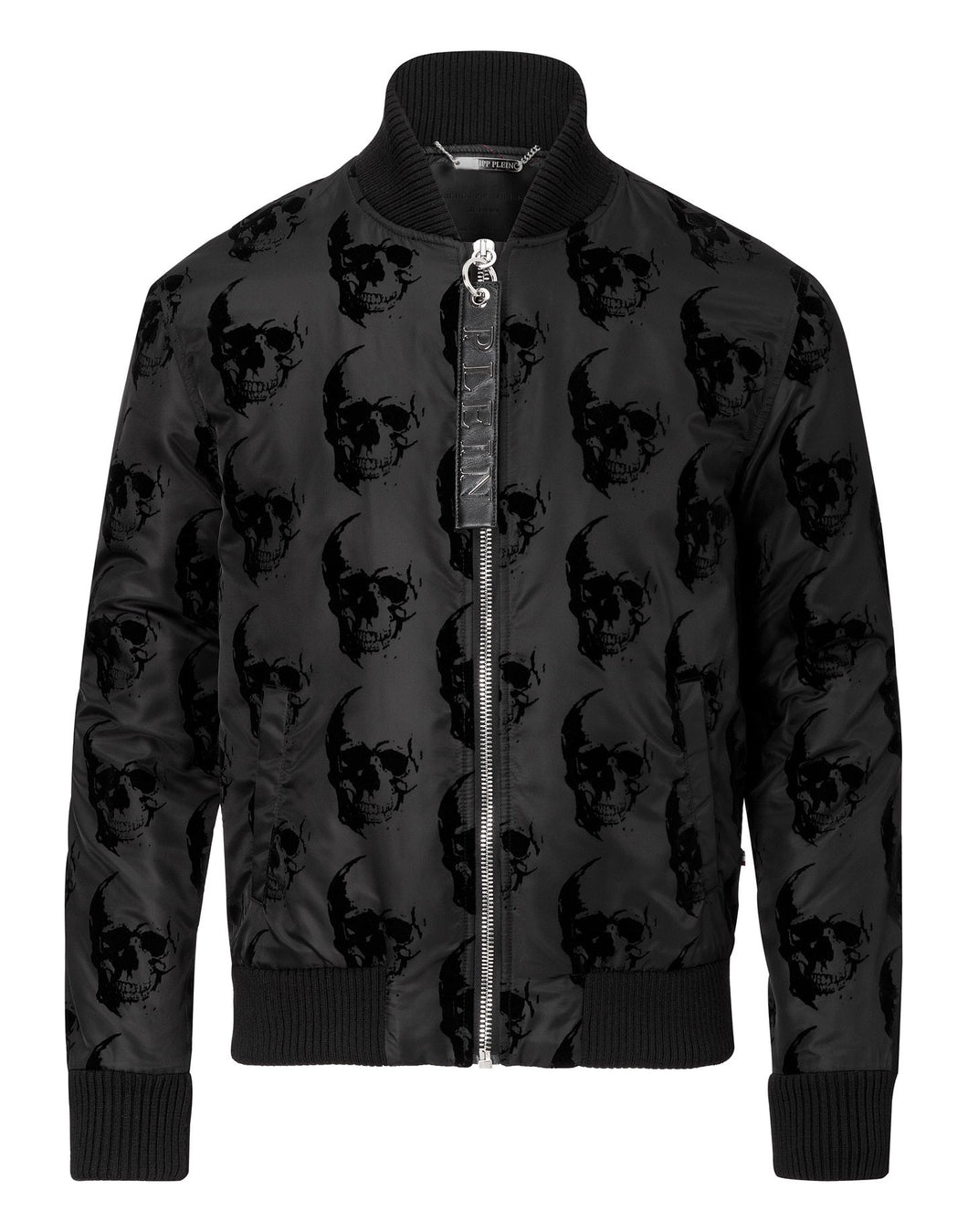 Philipp Plein Think Nylon Jacket Black